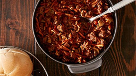 Photo of Spicy Beef Sloppy Joes by Reynolds Kitchens®