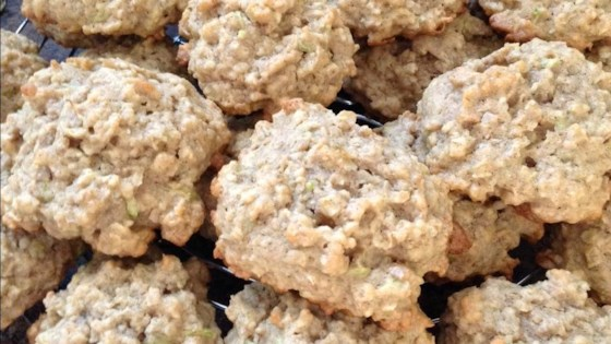 Photo of Peanut Butter Oatmeal Zucchini Cookies by Sanderling