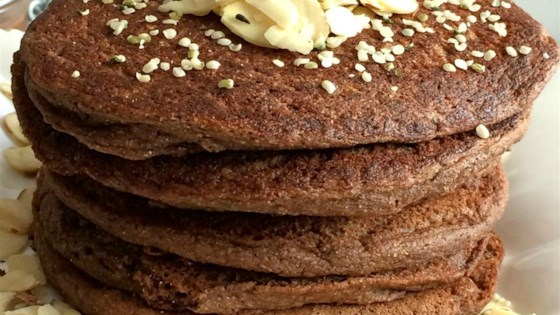 Photo of Zucchini Cocoa Pancakes by Megan Olson