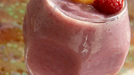 Photo of Raspberry Cantaloupe Smoothie by Sarah-May