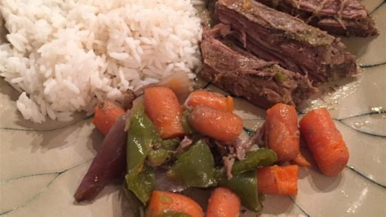 Photo of Crock Pot or Slow Cooked Flank Steak by Marianne Gillette