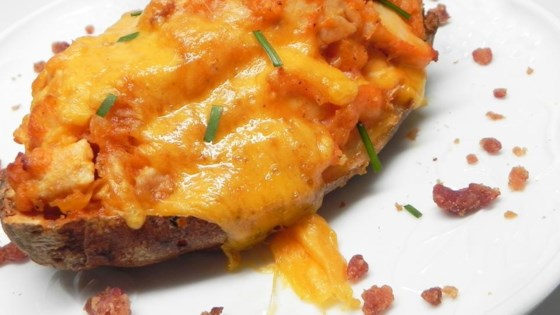 Photo of Buffalo Chicken Twice-Baked Potatoes by Karencuts