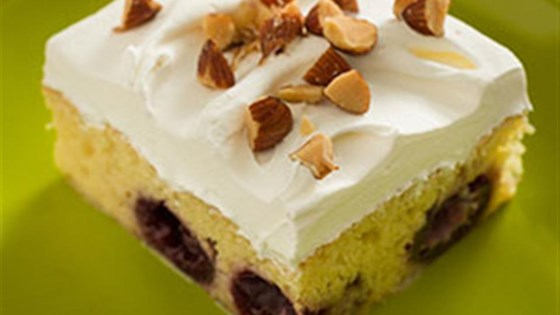 Photo of Almond Cherry Tres Leches Cake by Cans Get You Cooking®