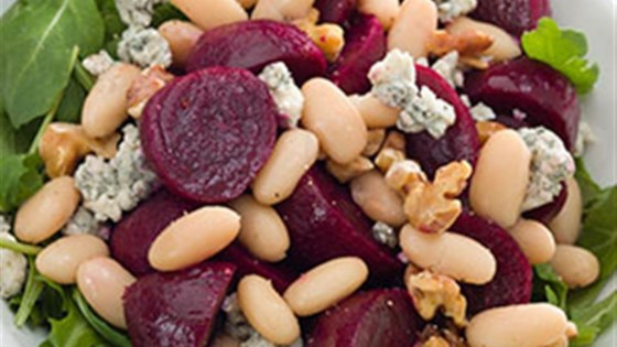 Photo of Beet & White Bean Salad by Cans Get You Cooking®