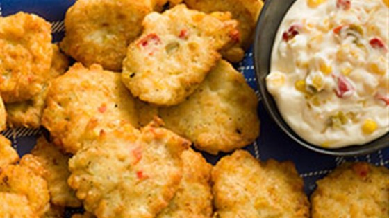 Photo of Corn and Crab Fritters with Lemon Aioli by Cans Get You Cooking®