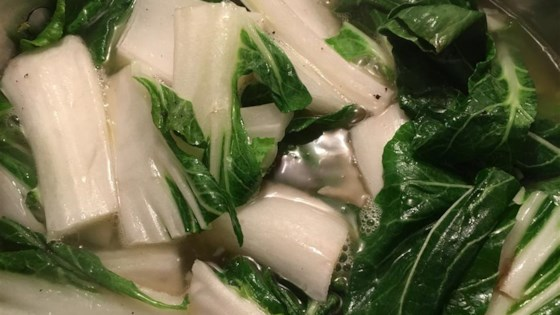 Photo of Baby Bok Choy with Garlic by sweetiesmj