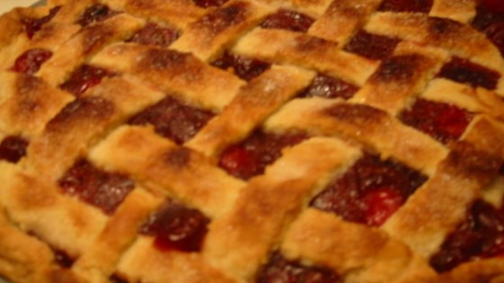 Photo of Cranberry Cherry Pie by Krissy