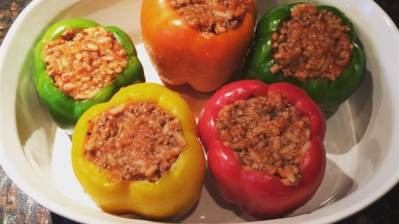 Photo of Healthier Stuffed Peppers by MakeItHealthy