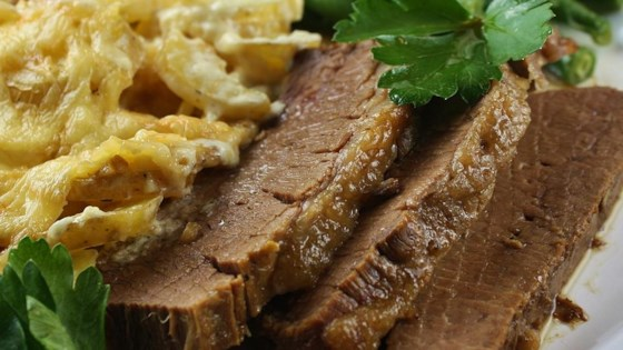 Photo of Bangin' Smokey Beef Brisket by Micki