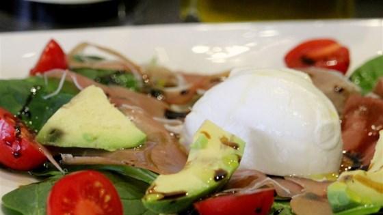 Fresh Avocado Burrata Salad