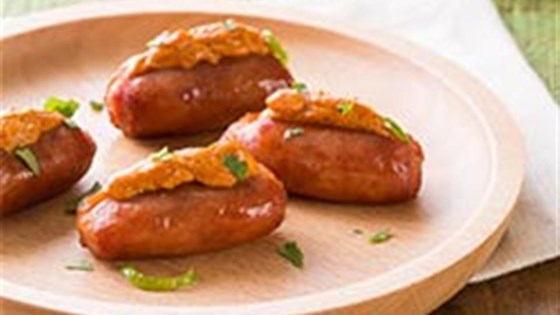 Photo of Chili-Cheese Stuffed Lit'l Smokies® Smoked Sausage by Hillshire Farm® Brand