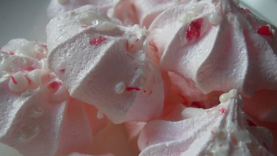 Photo of Peppermint Meringue Cookies by Mary