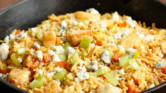 Photo of Buffalo Chicken & Rice Skillet by Knorr®