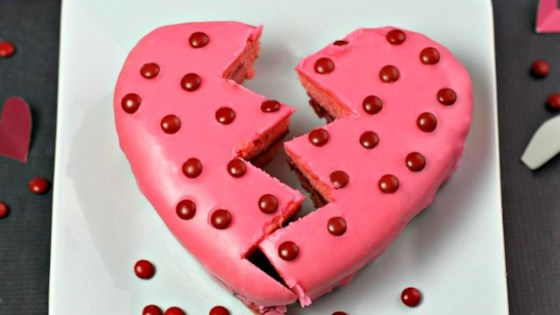 Photo of Broken Heart Cake by Culinary Envy