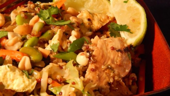 Photo of Pad Thai Quinoa Bowl by Lisa