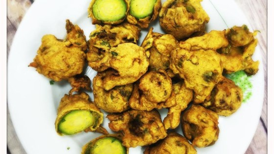 Photo of Brussels Sprout Pakora by Glasgow Foodie