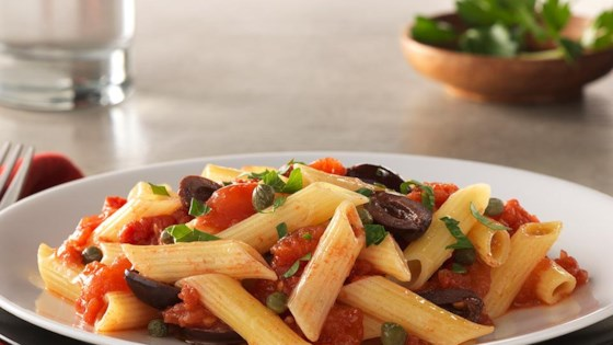 Photo of Gluten Free Penne with Puttanesca Sauce by Barilla