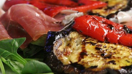 Photo of Grilled Aubergines with Prosciutto by Eshka