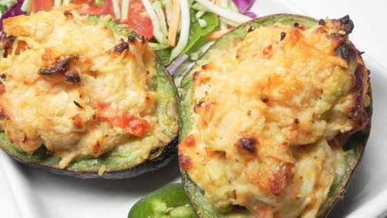 Chicken Stuffed Baked Avocados Recipe