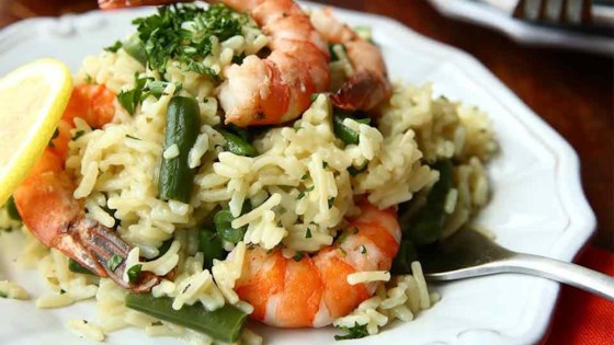 Photo of Shrimp Scampi Over Rice from Knorr® by Knorr®