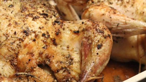 Photo of Roasted Lemon Herb Chicken by barbzal