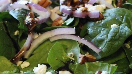 Hot Spinach Salad