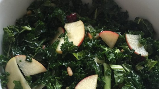 Photo of The Talk of the Potluck Kale and Apple Salad by Dani Steinbach