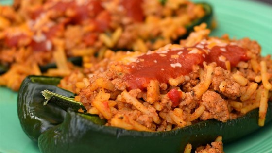 Photo of Taco Stuffed Poblano Peppers by IBETRAVLIN