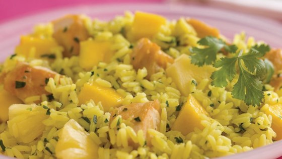 Tropical Chicken and Rice