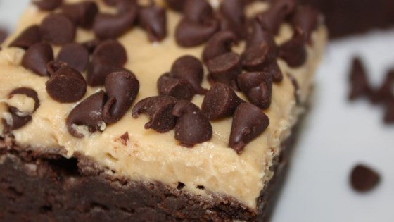 Photo of Karen's Cookie Dough Brownies by Karen Merrick