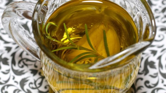 Photo of Rosemary Garlic Infused Olive Oil by Krystal