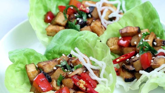 Photo of Vegan Lettuce Wraps by VeggieCravings