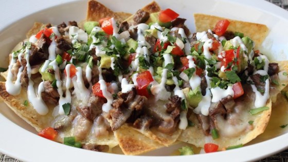 Photo of Super Deluxe Steak Nachos by Chef John