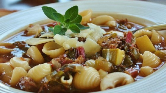 Photo of Best Italian Sausage Soup by Perri Pender