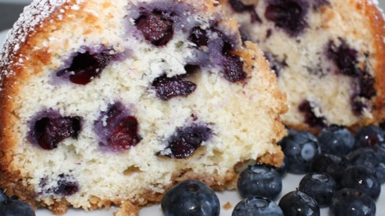 Photo of Blueberry Coffee Cake I by Debbie Rowe