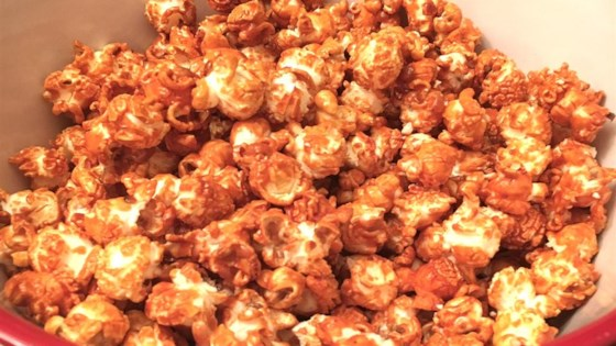 Photo of Spicy-Sweet Buffalo Popcorn by MARGARET N
