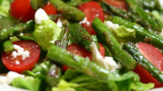 Photo of Roasted Asparagus Salad with Feta Cheese by pbutler