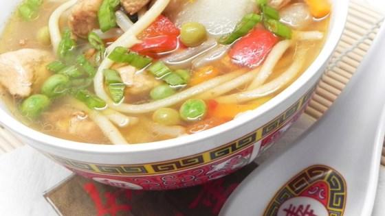 Photo of Asian Chicken Noodle Soup by Kikkoman