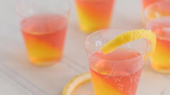 Photo of French 75 Jell-O® Shots by gnomeygoose