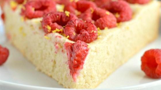 Photo of Gluten-Free Raspberry Lemon Cake by Megan Olson