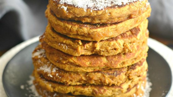 Photo of Pumpkin Coconut Pancakes by Megan Olson