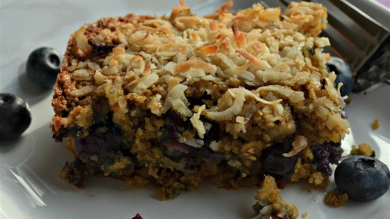 Photo of Blueberry Oatmeal Breakfast Bars by Cheryl Belanger