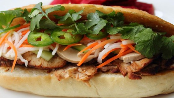 Roasted Pork Banh Mi (Vietnamese Sandwich) Recipe