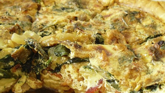 Photo of Gouda Spinach Quiche by Mary Rose Mattingly
