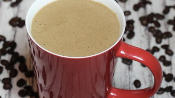 Hot Protein-Packed Mocha Smoothie