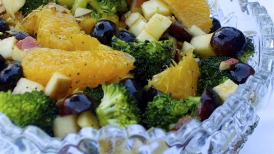 Photo of Fruit and Broccoli Buffet Salad by Crystal