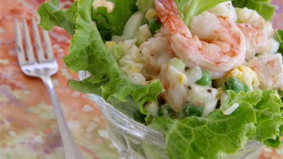 Photo of Shrimply Delicious Shrimp Salad by NIKIJO