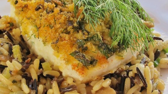 Photo of Herb Crusted Halibut by Duncan