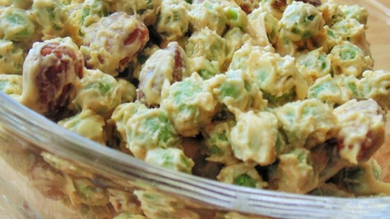 Photo of Easy Peasy Pea Salad by Cynda Baker