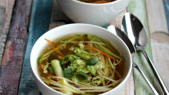 Photo of Vegetable Tom Yum Soup by trooworld